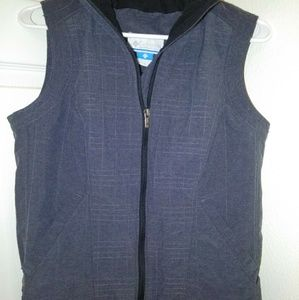 NWOT Columbia Women's charcoal grey vest